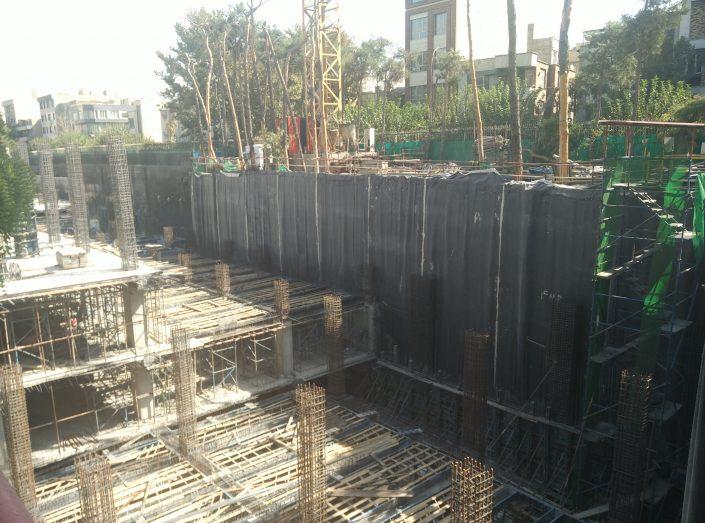 پارکینگ طبقاتی بیمارستان امام خمینی(ره)-انرژی عناصر آینده